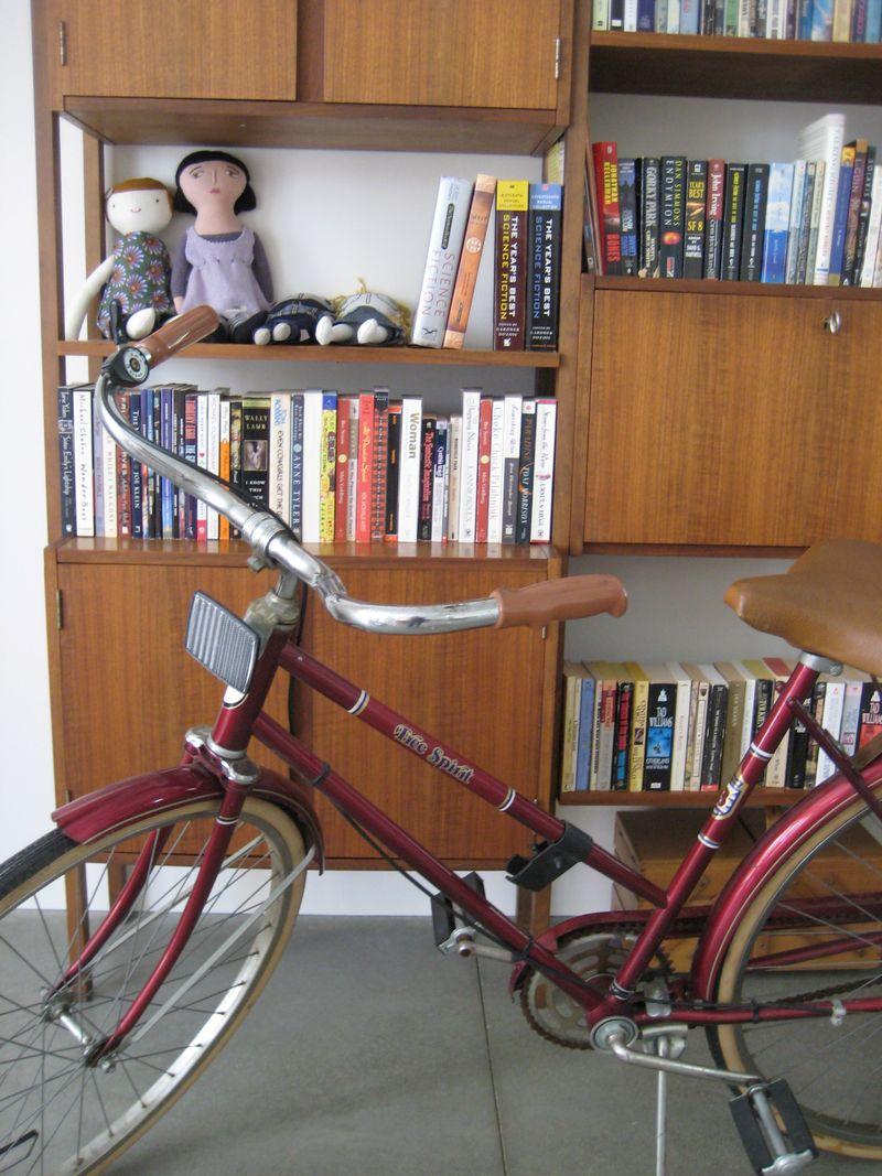 Bike and books
